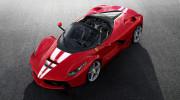 Ferrari LaFerrari Aperta cuối cùng được bán với giá 10 triệu USD