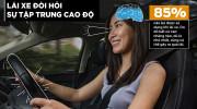 Lái ôtô, làm thế nào để tập trung hơn?