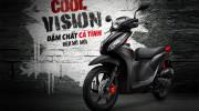 """Honda Việt Nam thêm màu """"lạ"""" cho VISION"""