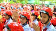 Honda Việt Nam tặng MBH cho học sinh Quảng Bình