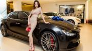 """Hà Hồ """"tậu"""" xế sang Maserati Ghibli S Q4 giá gần 7 tỷ đồng"""