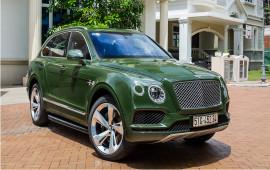 Ảnh chi tiết Bentley Bentayga Bespoke độc nhất Việt Nam