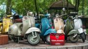 Hàng trăm xe Vespa cổ, độc và lạ cùng quy tụ về Hà Nội