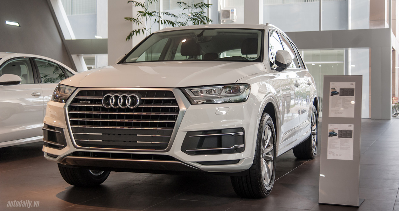 Đặt xe Audi trong tháng 10 nhận ngay ưu đãi giá hấp dẫn