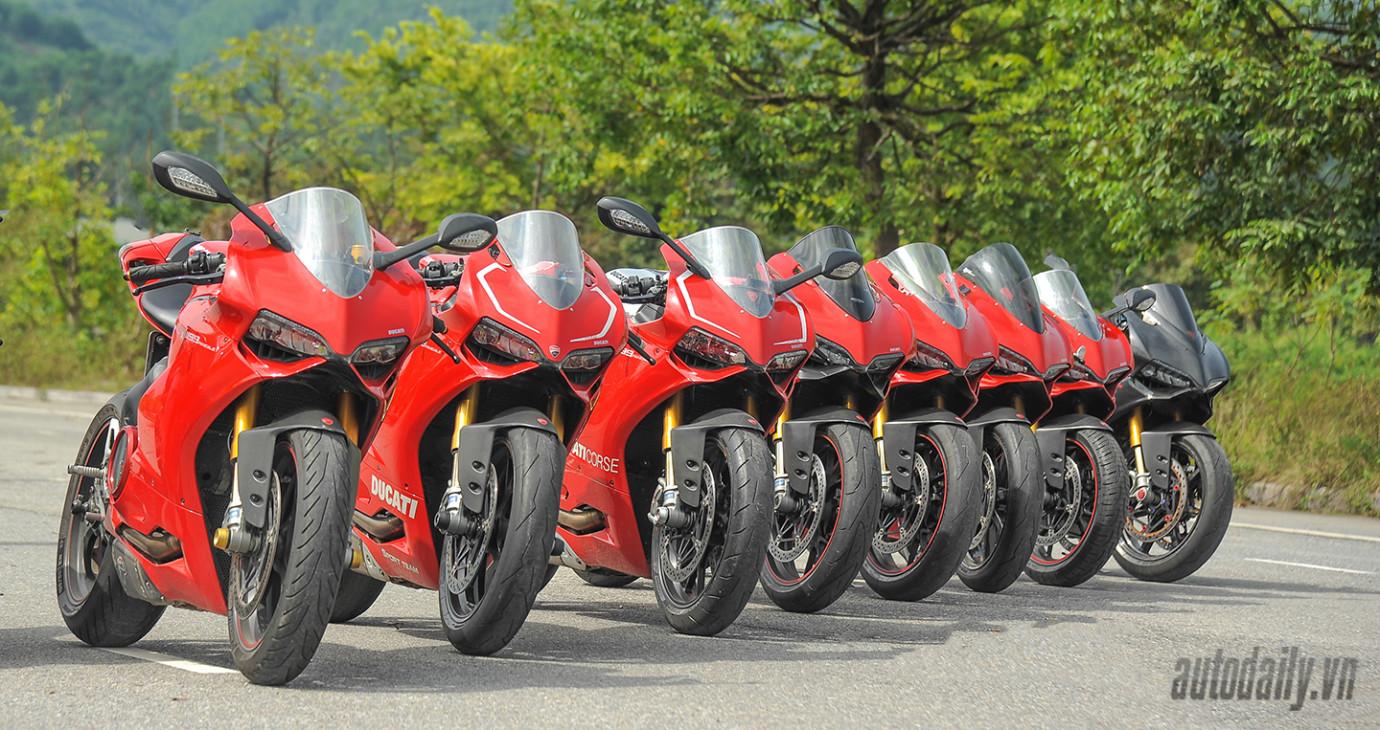 """Dàn siêu môtô Ducati Panigale """"offline"""" hoành tráng tại Hà Nội"""