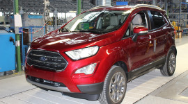 Ford EcoSport 2018 được sản xuất tại châu Âu