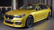 BMW M760Li xDrive 2017 lạ mắt trong màu sơn cá nhân hóa