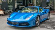 Diện kiến Ferrari 488 Spider màu Blu Corsa độc nhất Việt Nam