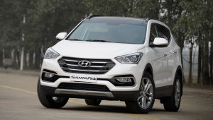 """Hyundai SantaFe 2017 giảm giá """"sốc"""", lên đến 230 triệu đồng"""