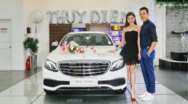Diễm viên Thúy Diễm tậu Mercedes E200 2017 giá 2,1 tỷ đồng