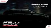Tin nóng: Honda CR-V mới ra mắt tại Việt Nam tháng 11 này