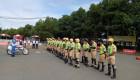 CSGT phục vụ APEC được tập huấn kỹ năng lái môtô
