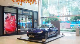 """Thoải mái ngắm """"xế sang"""" Maserati Ghibli giữa Sài Gòn"""