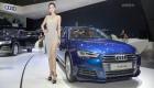 Công Vinh và Dương Tú Anh xuất hiện ở gian hàng Audi tại VIMS 2017