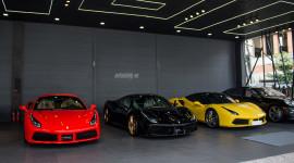 Showroom bán siêu xe có tổng giá trị hơn 100 tỷ tại Sài Gòn