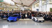Lamborghini xuất xưởng 7.000 chiếc Aventador và 9.000 chiếc Huracan