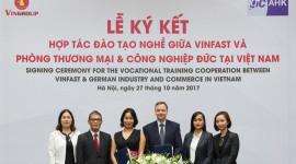Vinfast bắt tay Phòng Thương mại và Công nghiệp Đức đào tạo nhân lực ôtô