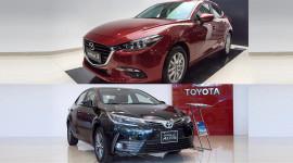 So sánh Mazda3 2017 và Corolla Altis 2017: Bạn chọn xe nào?