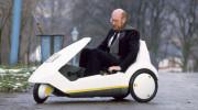"""Xe điện 3 bánh """"cực độc"""" - Sinclair C5"""
