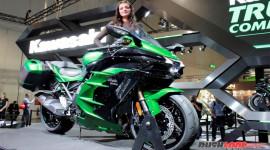 """Ảnh thực tế """"siêu môtô"""" Kawasaki Ninja H2 SX"""