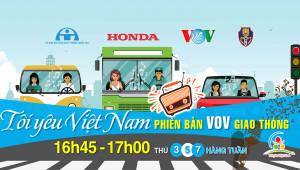"""""""Tôi yêu Việt Nam"""" lên sóng VOV Giao thông"""