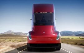 Tesla ra mắt xe tải điện, chạy 800km cho 1 lần sạc