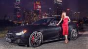 """Video: Hồ Ngọc Hà """"yêu"""" xế sang Maserati Ghibli S Q4"""
