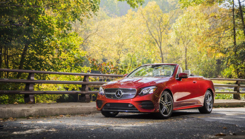 Mercedes E-Class Convertible 2018 có giá từ 66.300 USD tại Mỹ