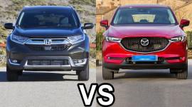 Chọn Honda CR-V 5+2 hay Mazda CX-5 mới?
