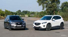 Honda CR-V 2.4L 2016 vs. Mazda CX-5 2.5L 2016: Bạn chọn xe nào?