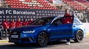 Sau Real Madrid, các cầu thủ Barcelona cũng nhận dàn xe Audi