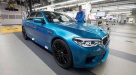 BMW M5 2018 chính thức đi vào sản xuất