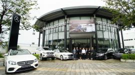 Bàn giao lô xe Mercedes-Benz cho Parrot Luxury Cars