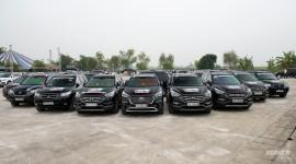 Hơn 120 xe Hyundai SantaFe offline hoành tráng tại Hà Nội