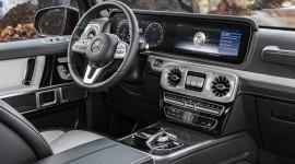 Hình ảnh nội thất chính thức của Mercedes-Benz G-Class 2019