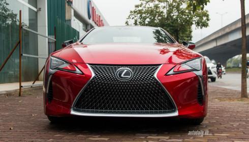 Ảnh chi tiết ngoại thất Lexus LC500 tại Hà Nội
