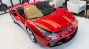 """Tuấn Hưng chi hơn 100 triệu đồng """"làm đẹp"""" siêu xe Ferrari 488 GTB"""