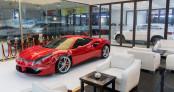 Ảnh siêu xe Ferrari 488 GTB phủ gốm của Tuấn Hưng