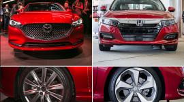 Honda Accord 2018 vs. Mazda6 2018: Phá vỡ định kiến