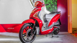 SYM Fancy 125 giá 35,9 triệu đồng: Đối thủ mới Honda Lead tại Việt Nam