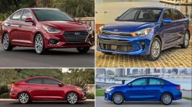"""Hyundai Accent 2018 vs. Kia Rio 2018: Cuộc chiến của """"người một nhà"""""""