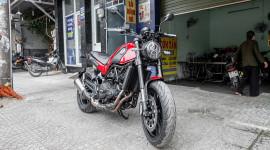 Benelli Leoncino 2017 – Đối thủ Ducati Scrambler cập bến Việt Nam