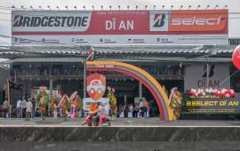 """""""Bridgestone lăn bánh an toàn"""" tiếp tục được tổ chức tại Bình Dương"""