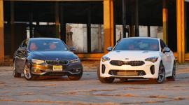 BMW 430i Gran Coupe và Kia Stinger: Cuộc đối đầu giữa giá trị cổ điển và sự cách tân
