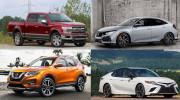 10 mẫu xe bán chạy nhất thị trường Mỹ năm 2017