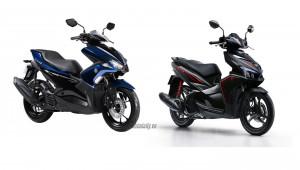 40 triệu nên chọn Yamaha NVX 125 2017 hay Honda Air Blade 2018?