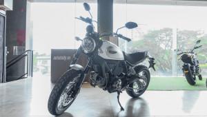 Ducati Scrambler Classic màu trắng duy nhất tại Việt Nam