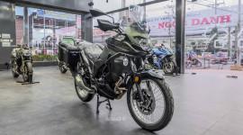Môtô đường trường Kawasaki Versys X300 2018 về Việt Nam, giá 169 triệu đồng
