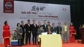 Nissan Việt Nam khởi động Chương trình Hỗ trợ giáo dục cho cơ sở đào tạo chuyên ngành ôtô