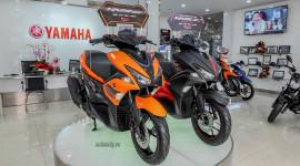 Cận cảnh Yamaha NVX 155 ABS màu cam mới, giá từ 52,7 triệu đồng